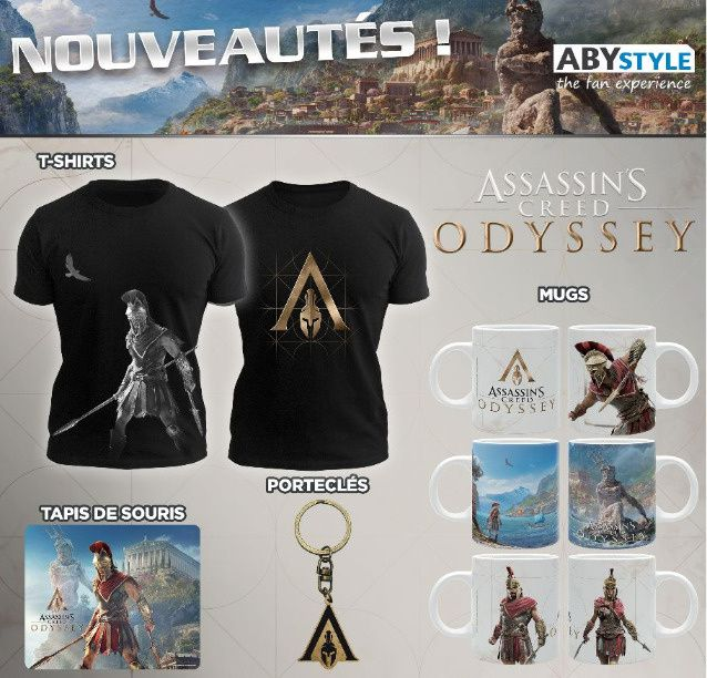 #Geek - Assassin's Creed Odyssey chez ABYstyle !