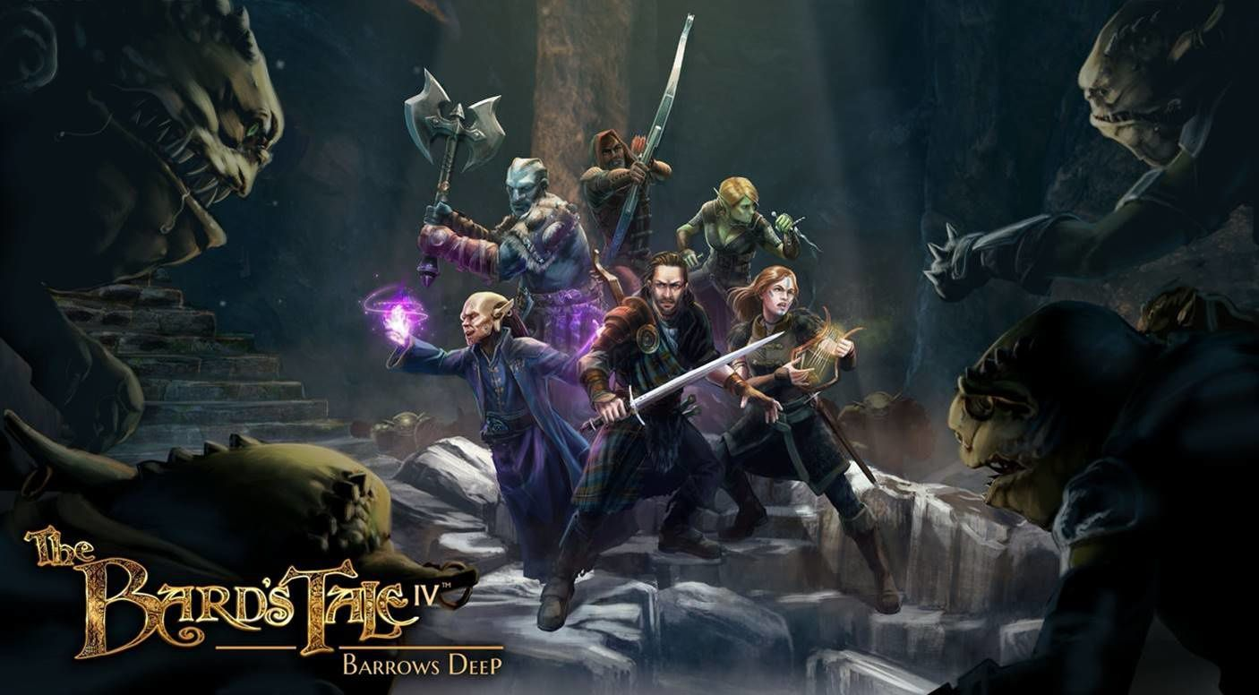 #Gaming - THE BARD'S TALE IV: BARROWS DEEP DE INXILE ENTERTAINMENT EST DÉSORMAIS DISPONIBLE SUR WINDOWS PC