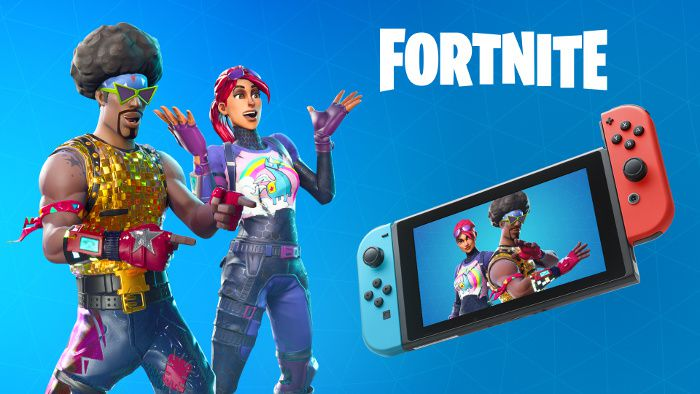 #Gaming - Fortnite : Le multiplateforme ( Xbox One - Switch - PC - Android - ios - Mac ) arrive sur PS4 !