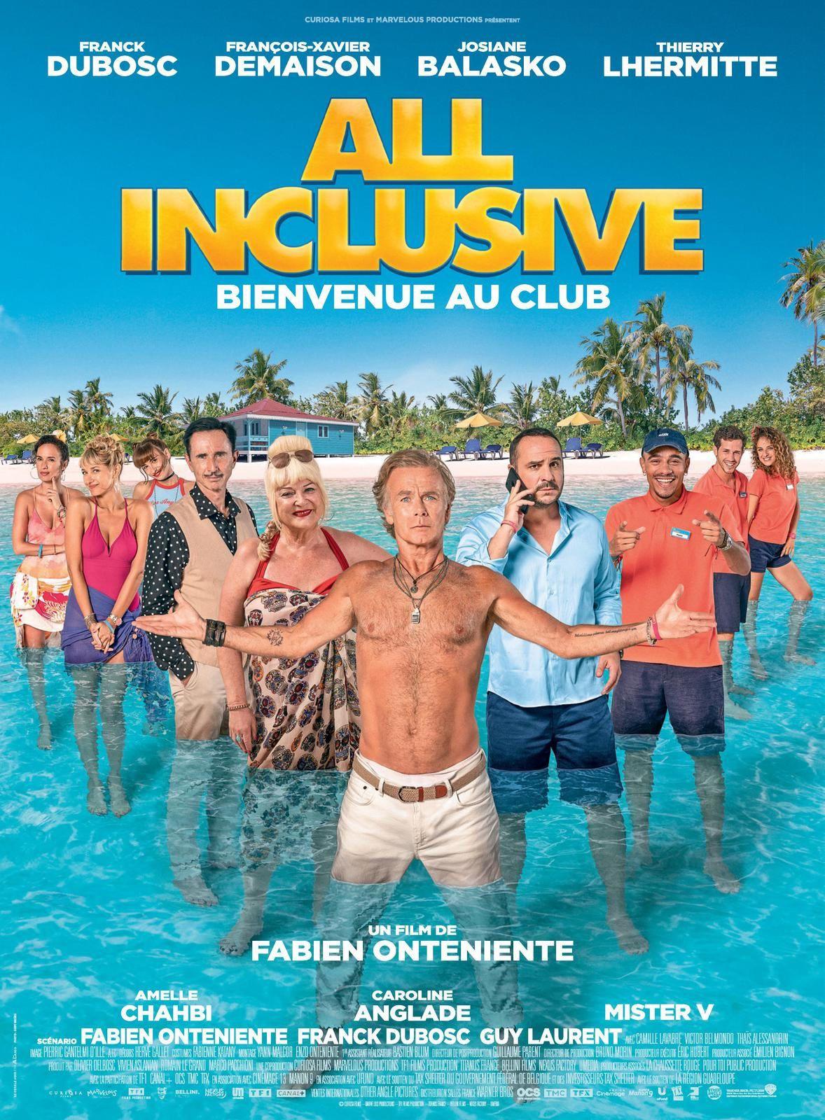 #Cinema - Franck Dubosc - Josiane Balasko -Thierry Lhermitte - DECOUVREZ LA BANDE ANNONCE DE ALL INCLUSIVE !