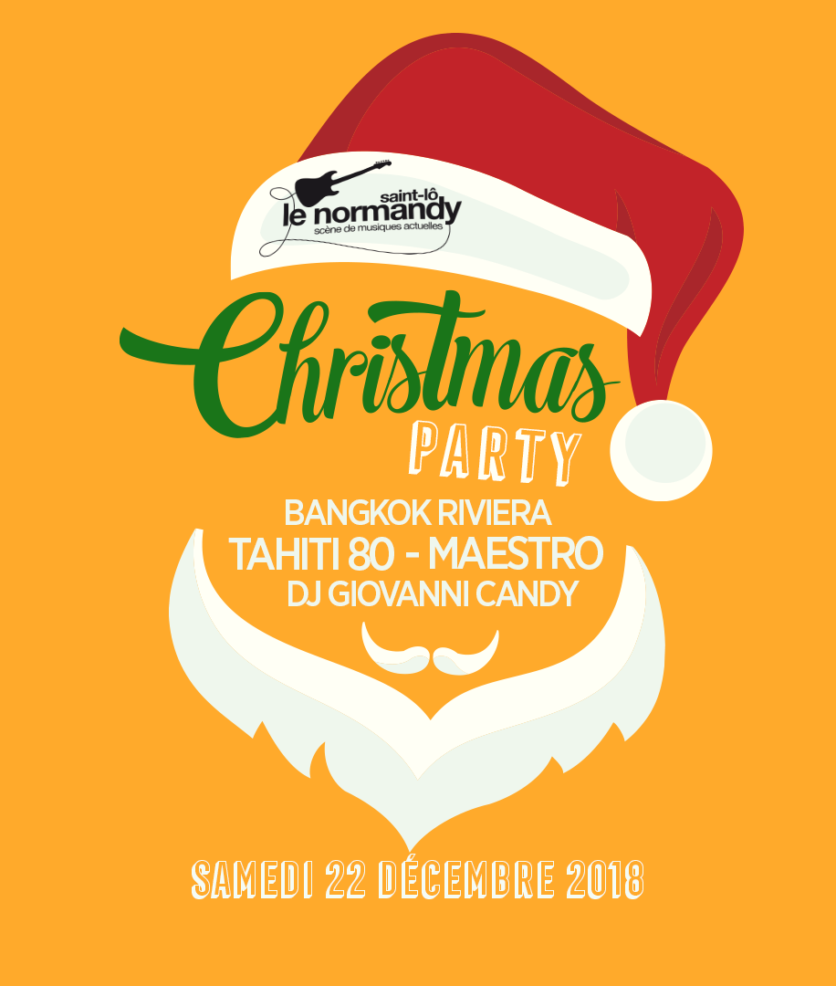 #Musique #Concert #saintlove - Christmas Party au #Normandy de Saint-Lo ! Programme du 22 Décembre
