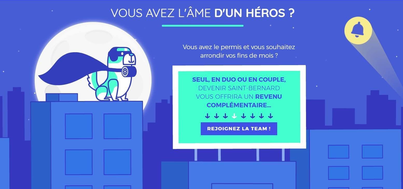Réveillon : Saint-Bernard - Une application pour empêcher un ami de prendre le volant !