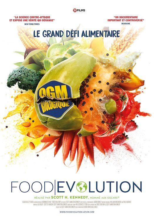 #Cinema - Sortie nationale de FOOD EVOUTION film documentaire choc sur les rapports entre science et alimentation, le 20 février 2019 au cinéma !