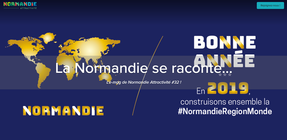 Normandie Attractivité : la Normandie se raconte... #NormandieRégionMonde - l'e-mag