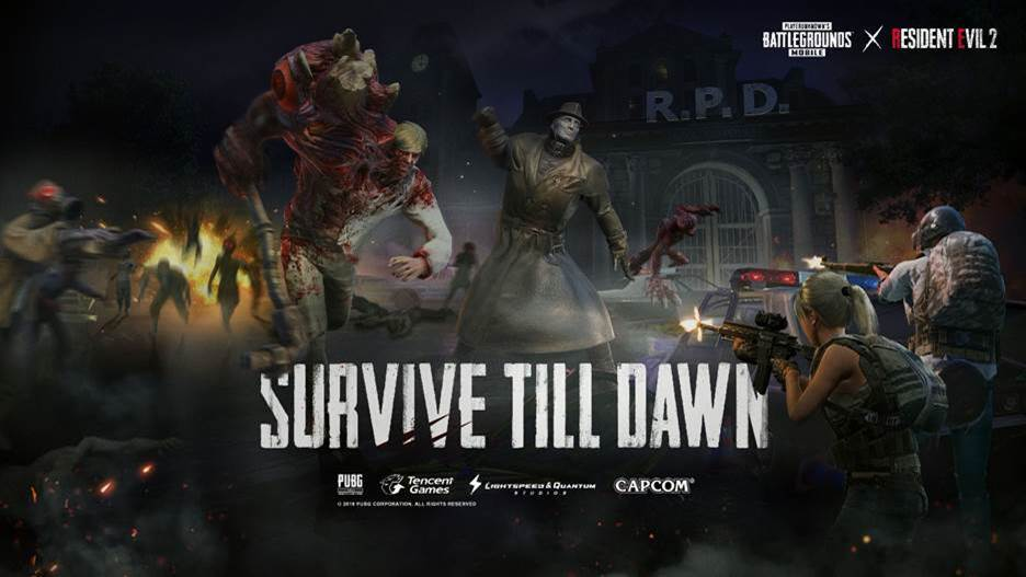 "#Gaming - LE MODE DE JEU ""ZOMBIE: SURVIVE TILL DAWN"",  LE CROSSOVER DE PUBG MOBILE ET RESIDENT EVIL 2 EST DISPONIBLE DÈS MAINTENANT"