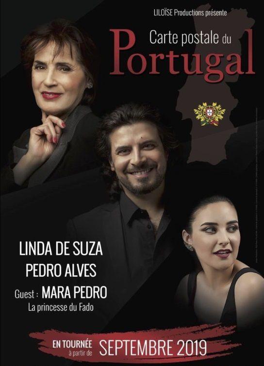 #Spectacle au Théâtre de l'Hôtel de Ville du Havre le 15 novembre 2019 - CARTE POSTALE DU PORTUGAL avec Pedro Alves !