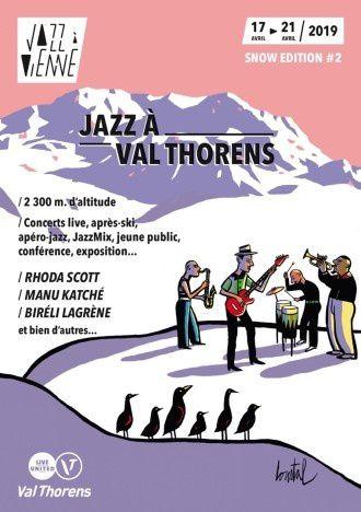 J-15 Jazz à Val Thorens : Jazz à Vienne s'installe à Val Thorens pour une 2ème édition !