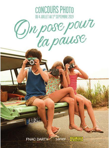 Sécurité Routiére - Lancement du concours #OnPosePourLaPause : le concours photo de l'été pour sensibiliser les vacanciers à l'importance des pauses