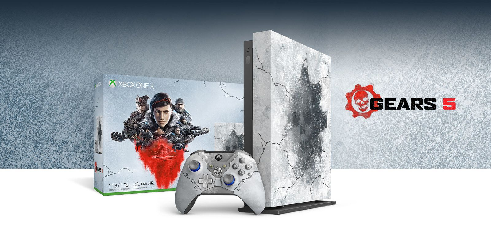 #Gaming - Découvrez la Xbox One X Collector Gears Of War 5 !