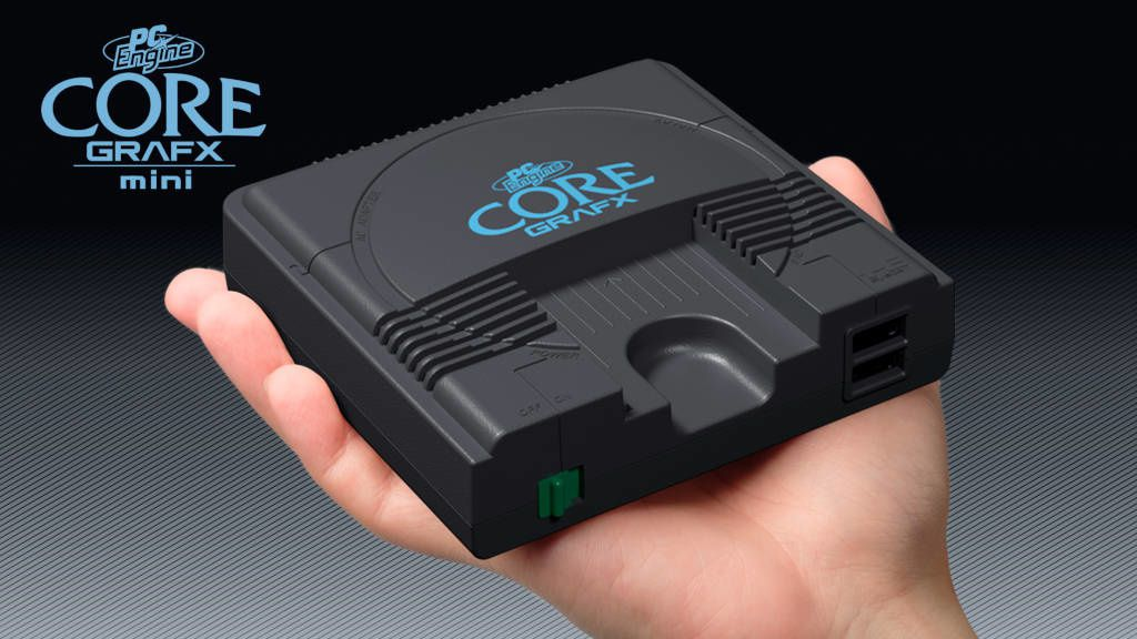 #Gaming - #Konami - La PC Engine Core Grafx mini sera disponible le 19 mars 2020 !