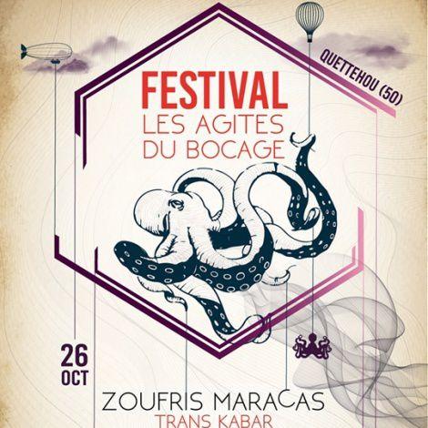 Les Agités du Bocage à Quettehou - Le  26 octobre - Concerts et animations à Quettehou : 4ème édition