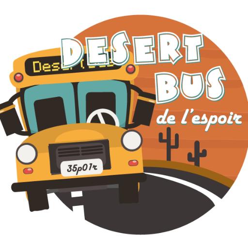 Gaming - Association Petits Princes - Le Desert Bus de l'Espoir repart pour 60h de live du 29 novembre au 1er décembre 2019