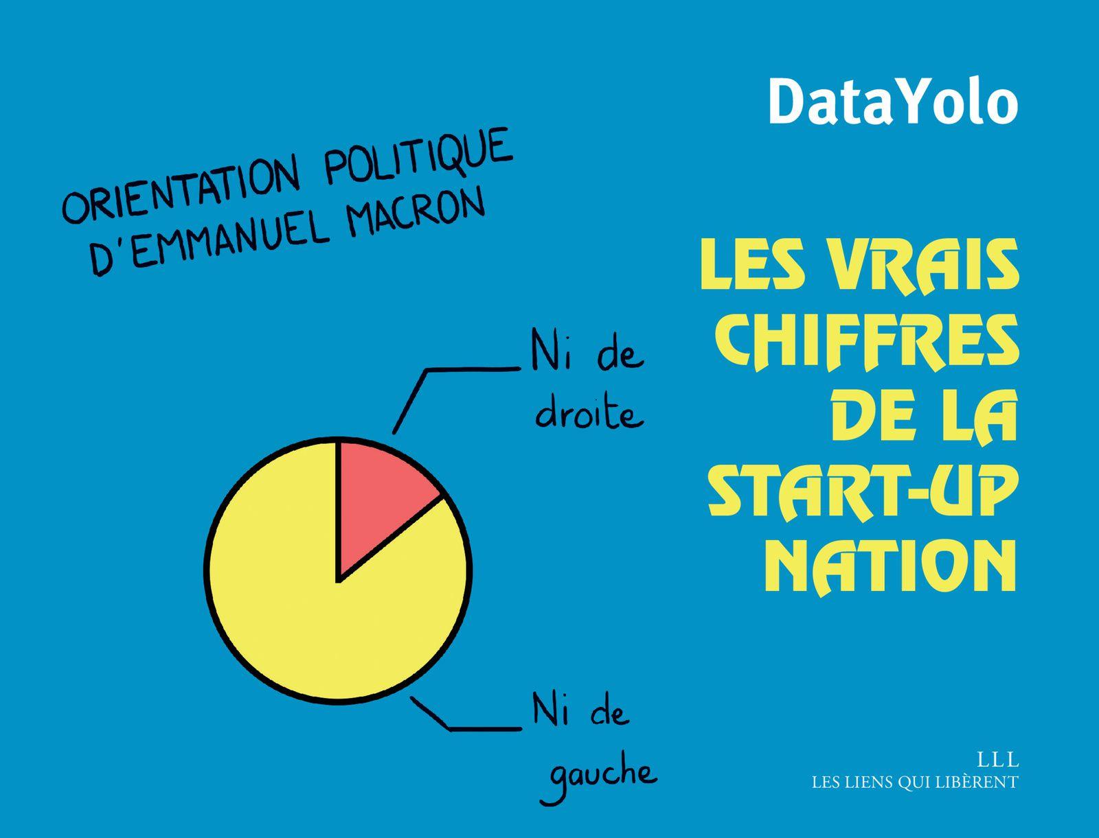 #LIVRE - Les vrais chiffres de la start-up nation - DataYolo éditions Les liens qui Libèrent !