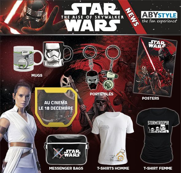 #GEEK - Star Wars IX débarque chez ABYstyle !