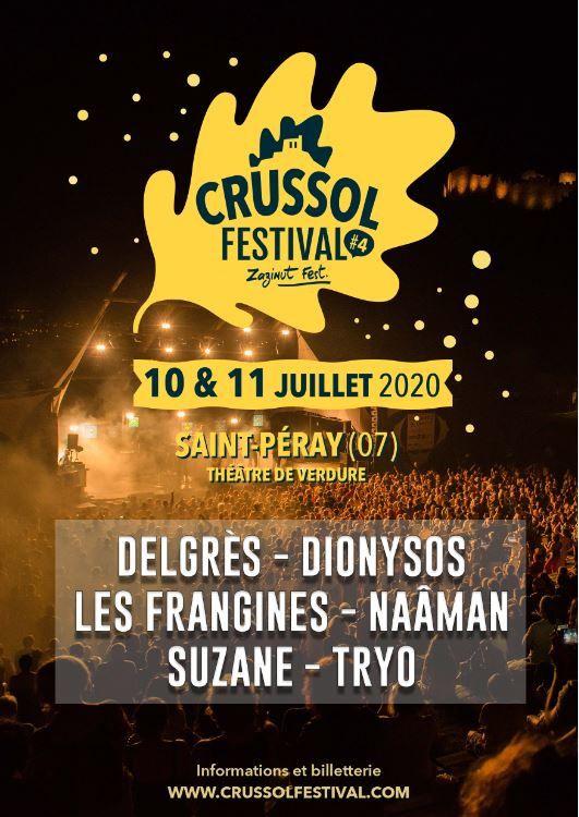 Crussol Festival : les premiers noms de la 4ème édition dévoilés !