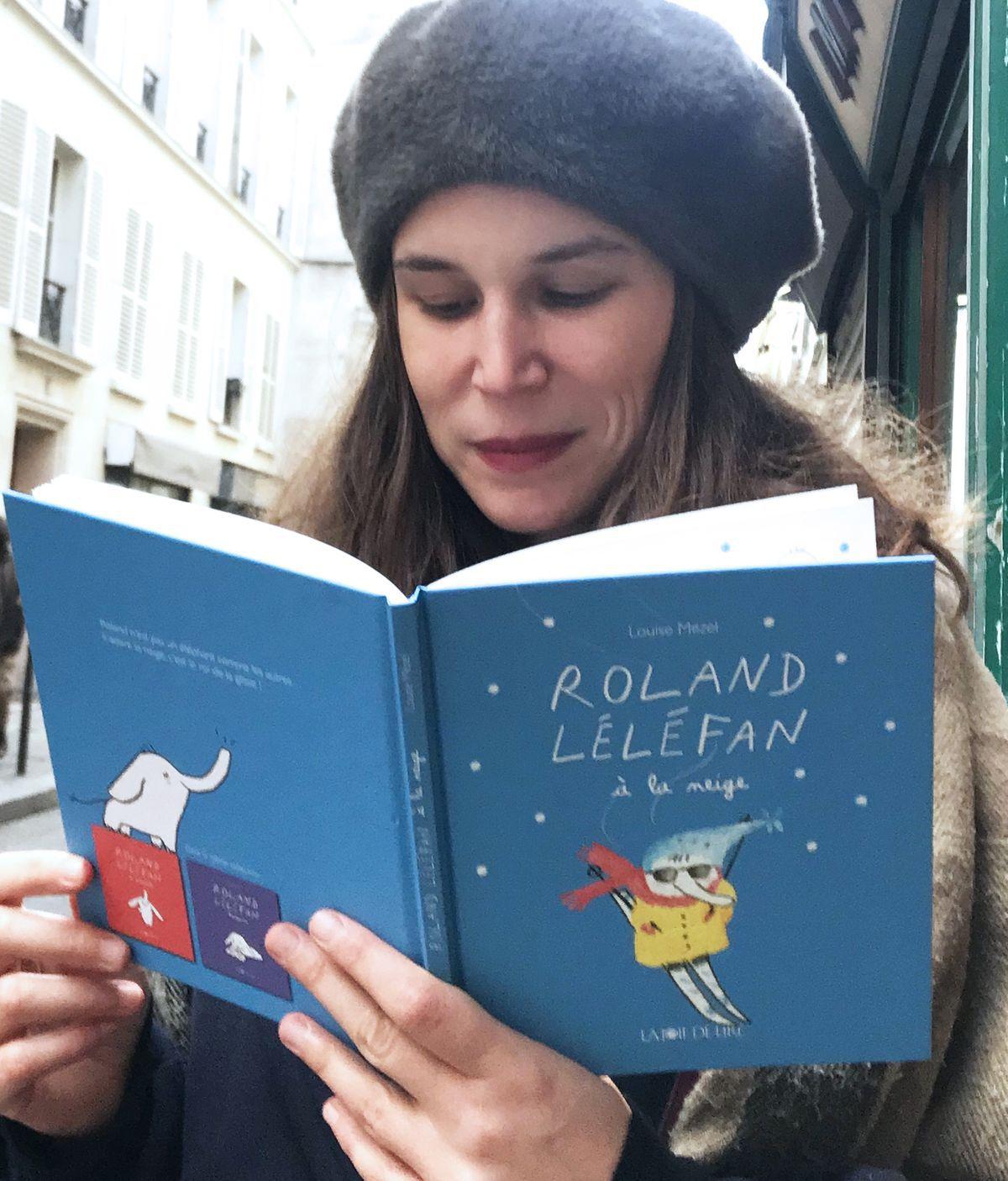 #CULTURE - Dédicace à la librairie Metropolis à Bayeux Roland Léléfan à la neige de Louise Mezel !