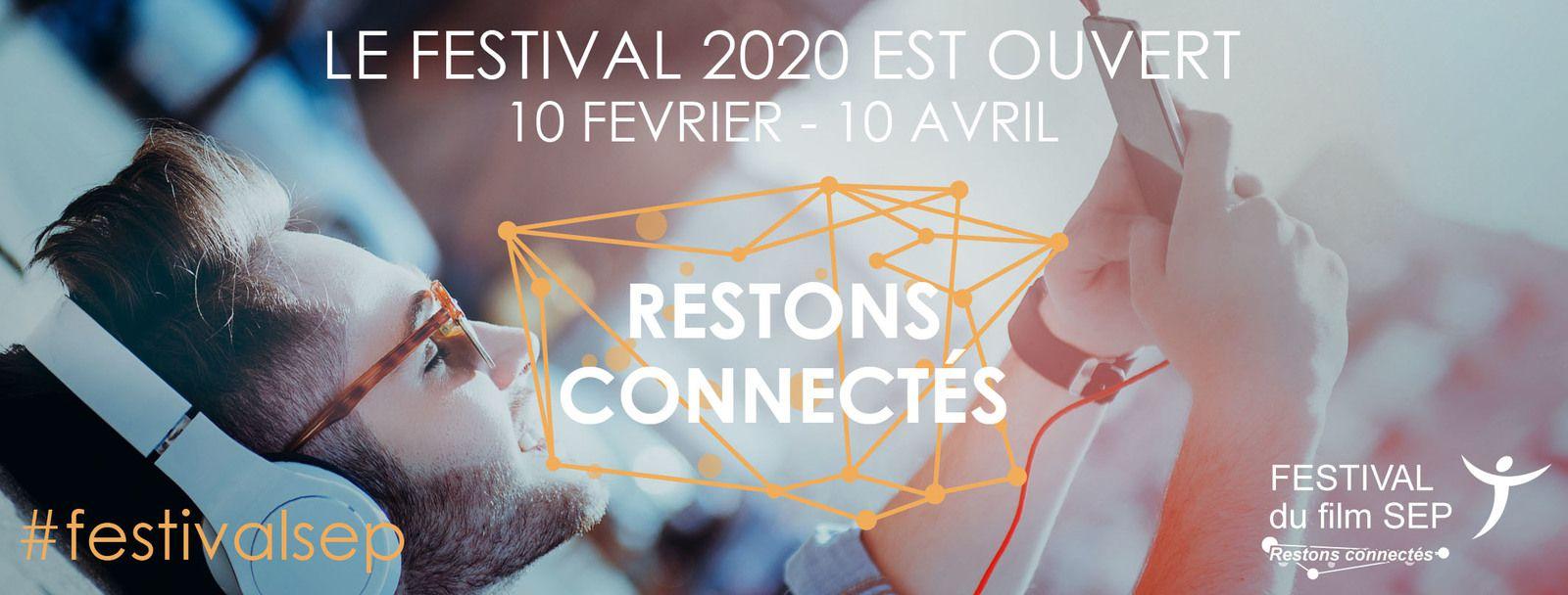 Festival du Film #SEP 2020 c'est part i ! #festivalsep  #restonsconnectes  #byunisep