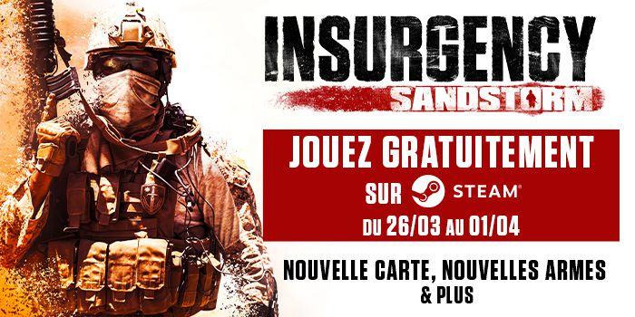 #Gaming - Insurgency : Sandstorm : Jouez gratuitement sur #Steam profitez du nouveau contenu et gardez le jeu à -50% !