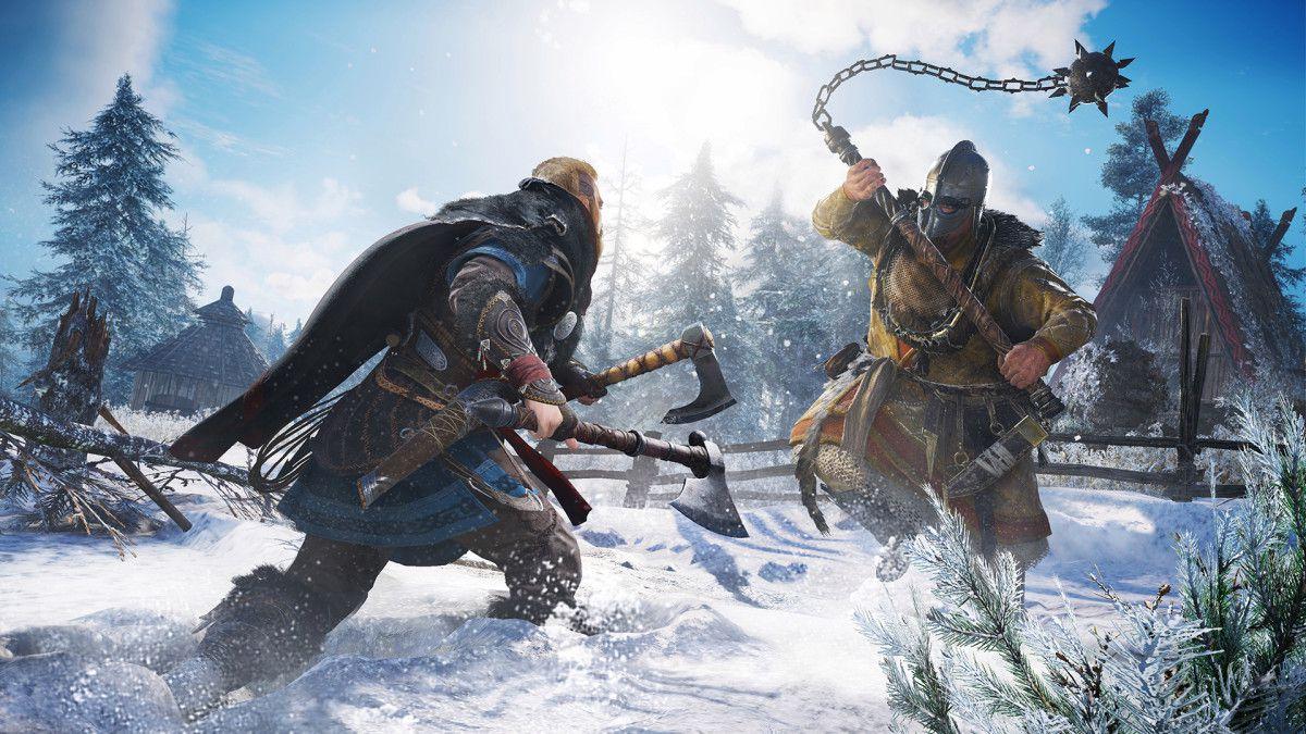 #GAMING #UBISOFT - Assassin's Creed Valhalla se dévoile sur #XBOXONEX en 4k HDR !