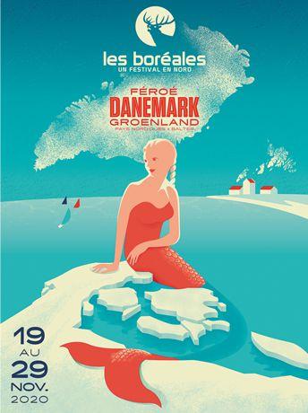 #FESTIVAL - #CAEN - L'affiche des Boréales 2020 dévoilée !