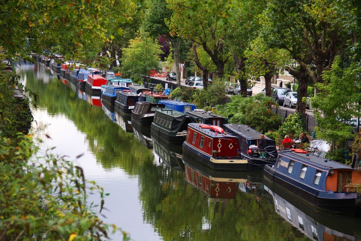 Regent's Canal : www.theresident.co.uk