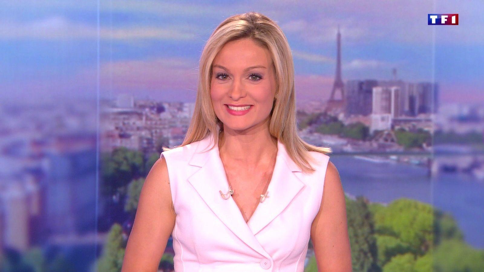 LE 20H WEEK-END d'AUDREY CRESPO-MARA le 2016 08 07 sur TF1