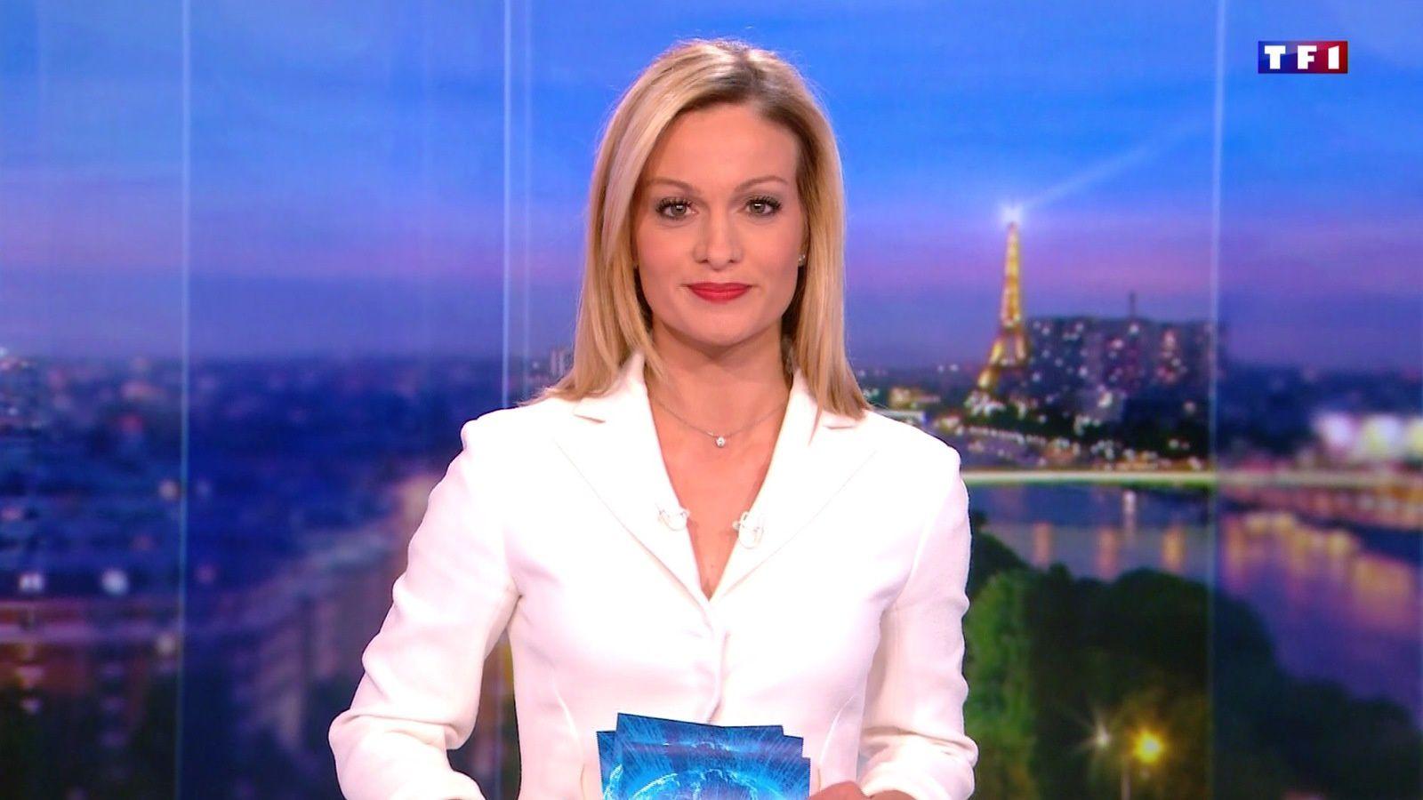 AUDREY CRESPO-MARA @audrey_crespo @TF1 @TF1LeJT pour LE 20H WEEK-END #vuesalatele