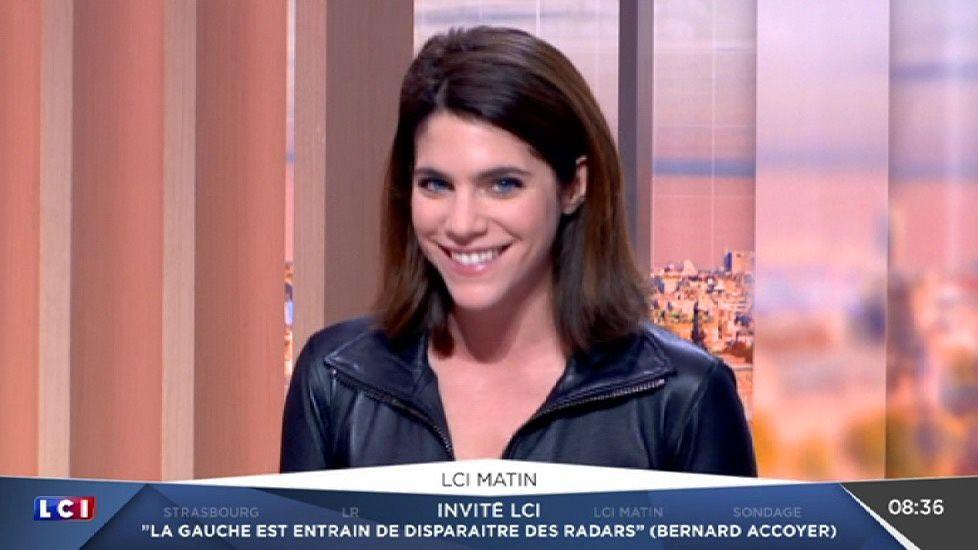 JULIA 'Catwoman' MOLKHOU 😍 @JuliaMolkhou ❤️❤️❤️❤️❤️ ce matin @LCImatin @LCI #vuesalatele