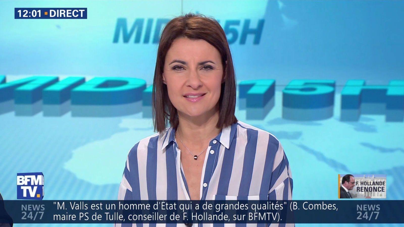 📸 SANDRA GANDOIN @SandraGandoin @JohannaCarlosD8 cet apm @BFMTV #vuesalatele