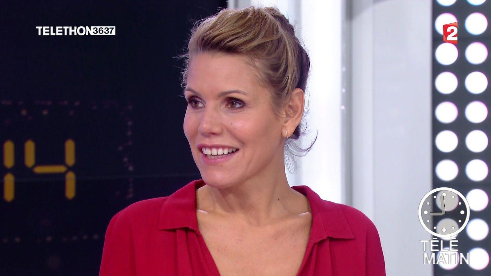 📸 LAURA TENOUDJI @lauratenoudji ce matin @telematin @France2tv #vuesalatele