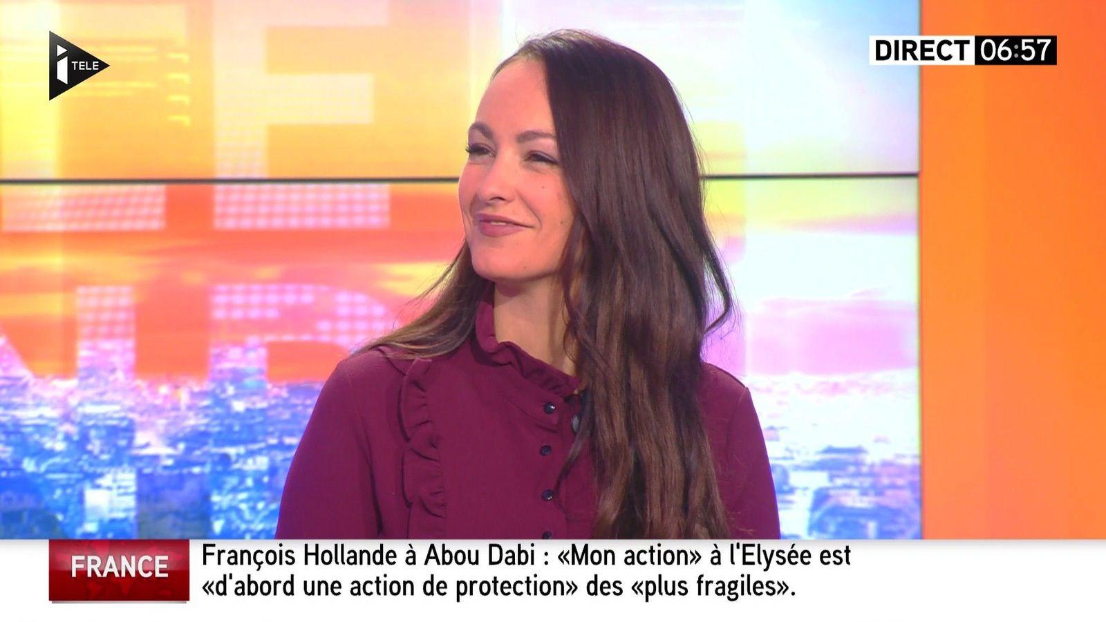 📸 ALEXANDRA BLANC @LCMAlexandra @alexandrablanc3 aujourd'hui pour LA METEO @itele #vuesalatele