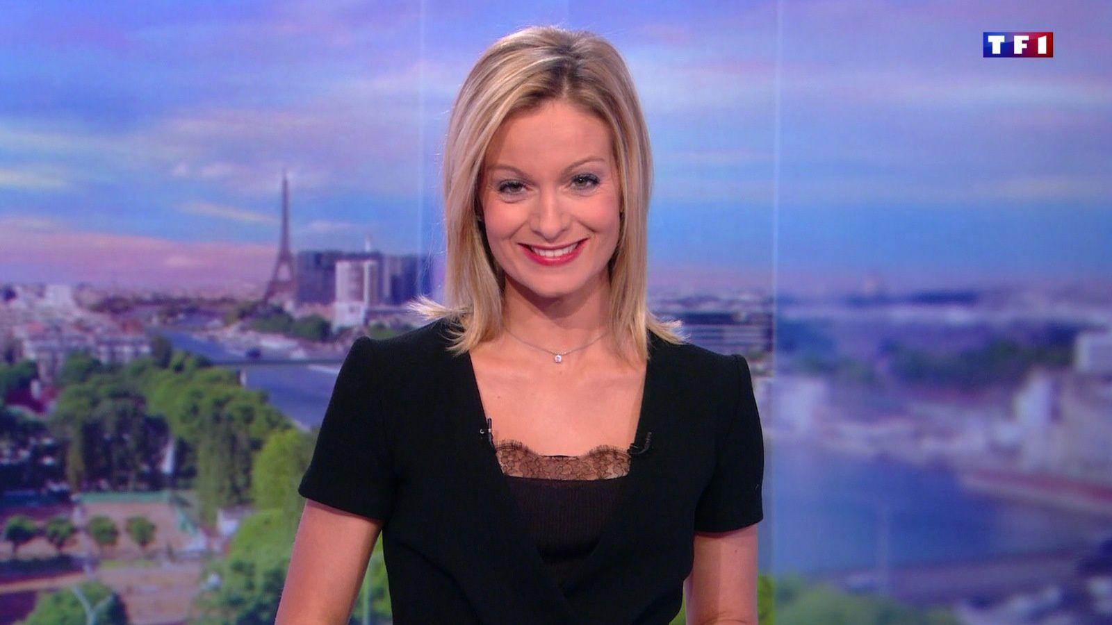 📸11 ✨ AUDREY CRESPO-MARA ✨ @audrey_crespo ce midi @TF1 @TF1LeJT pour LE 13H WEEK-END #vuesalatele