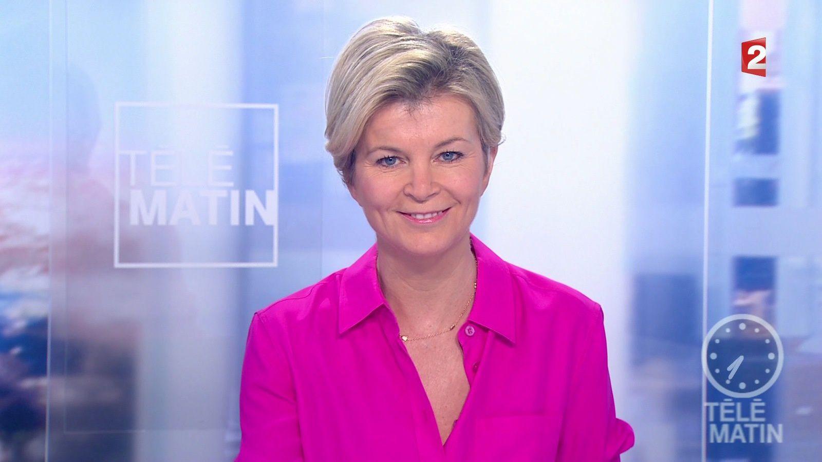 📸5 ESTELLE COLIN pour LE JT de 7H ce matin @telematin @France2tv #vuesalatele