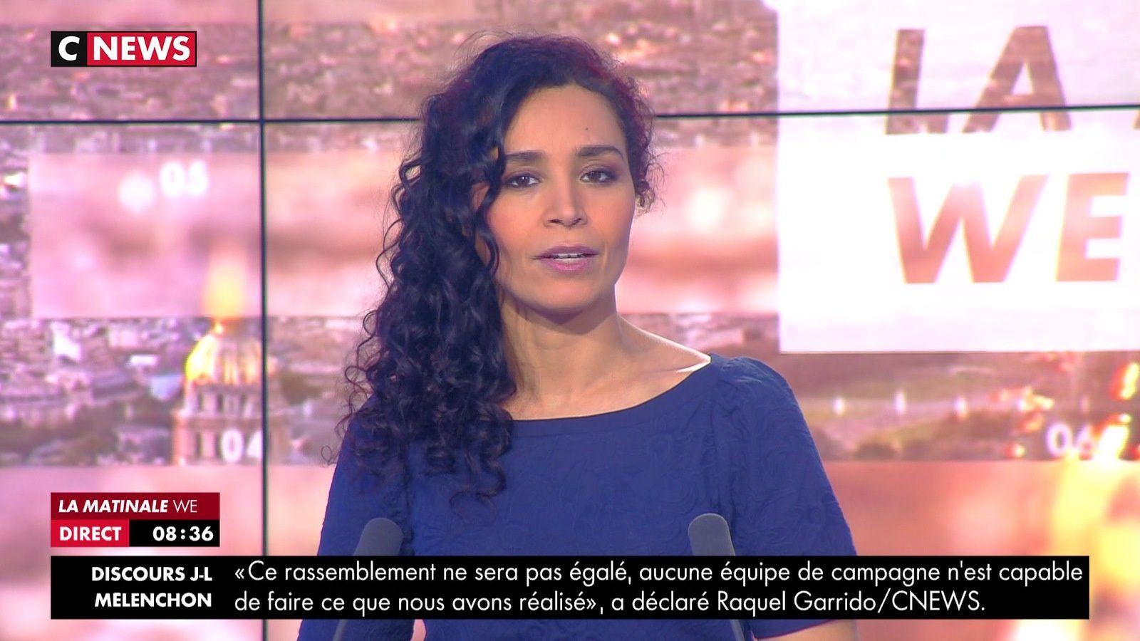 📸6 AIDA TOUIHRI @AidaTouihri @JohannaCarlosD8 ce matin @LaMatinaleWE @cnews #LaMatinaleWE #vuesalatele