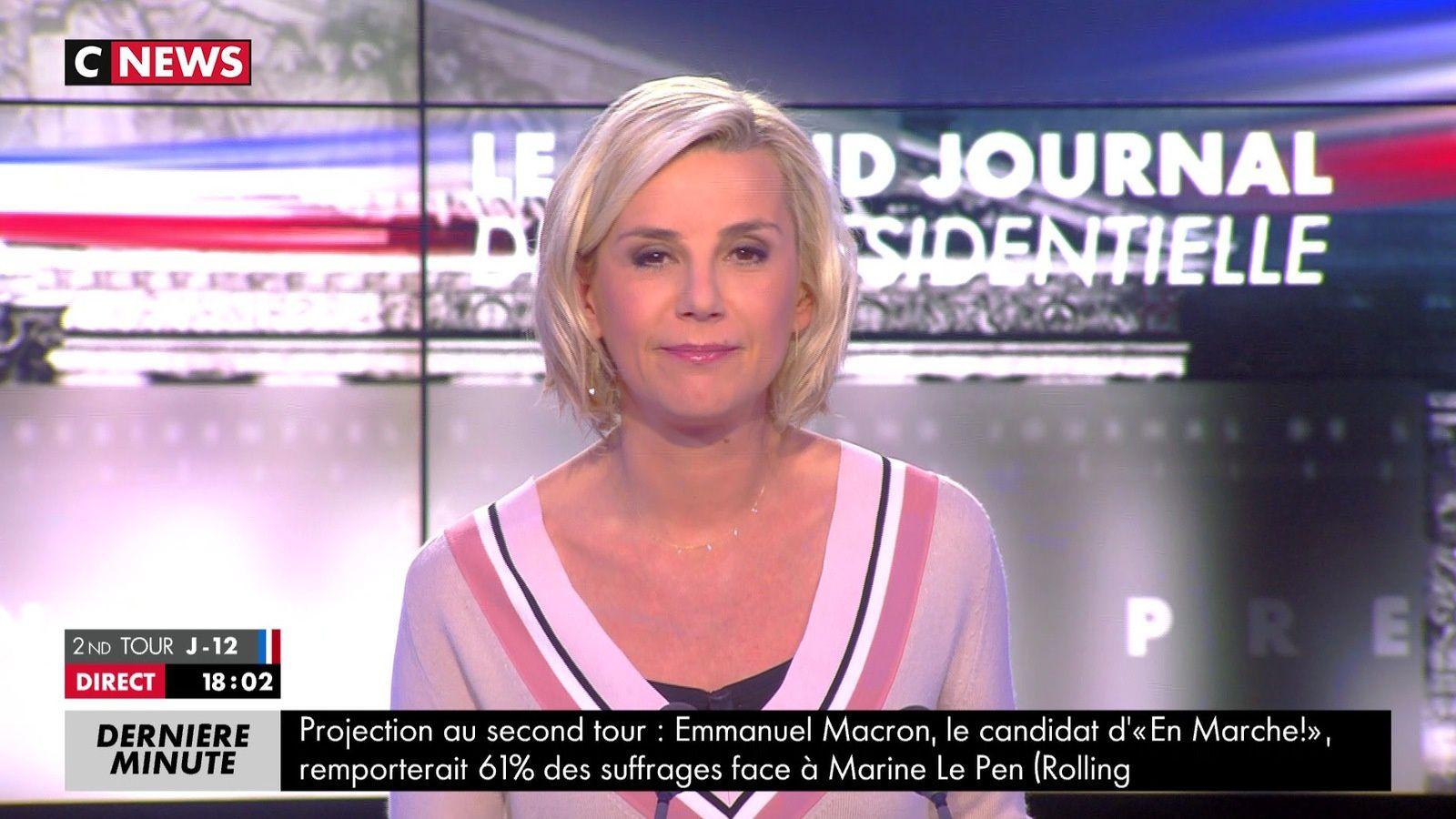 📸6 LAURENCE FERRARI @LaurenceFerrari ce soir @CNEWS #ElectionPresidentielle2017 #vuesalatele
