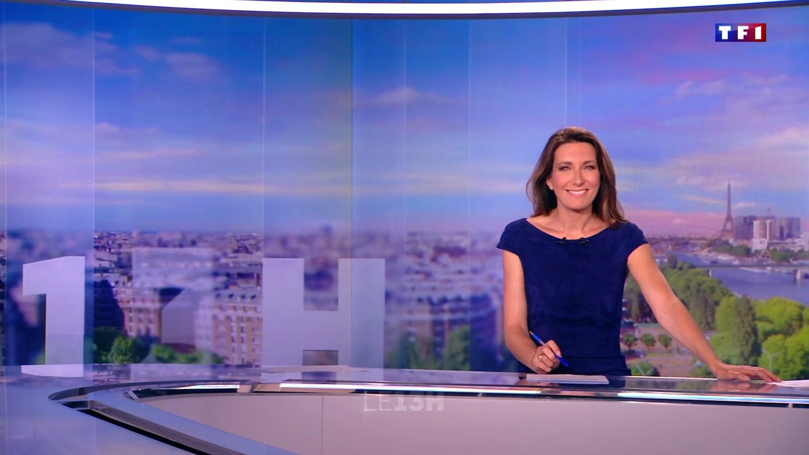 📸14 ANNE-CLAIRE COUDRAY @ACCoudray @TF1 @TF1LeJT pour LE 13H WEEK-END #vuesalatele