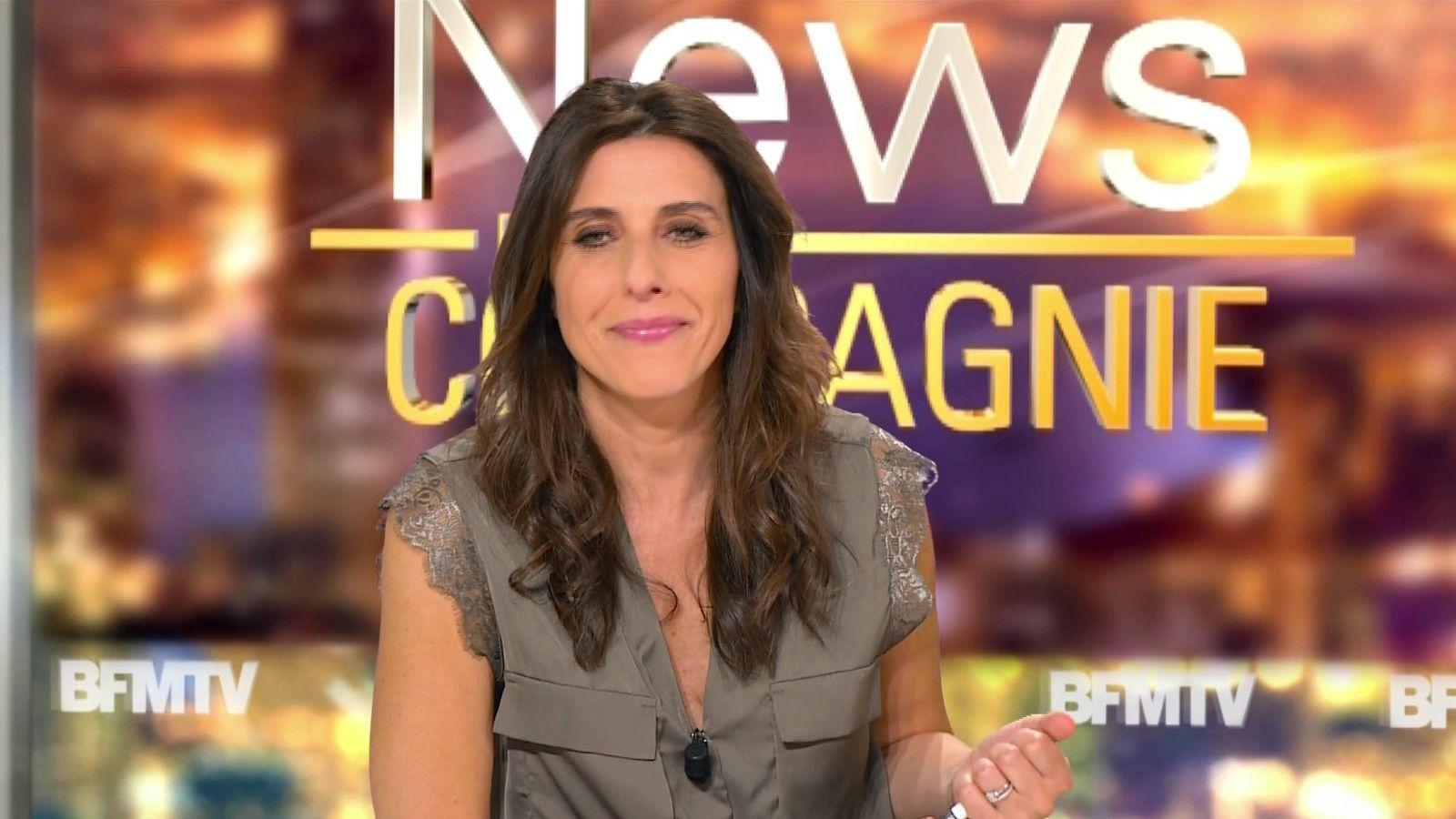 📸3 NATHALIE LEVY @NathalieLevyNC @JohannaCarlosD8 ce soir pour #newsetco @bfmtv #vuesalatele