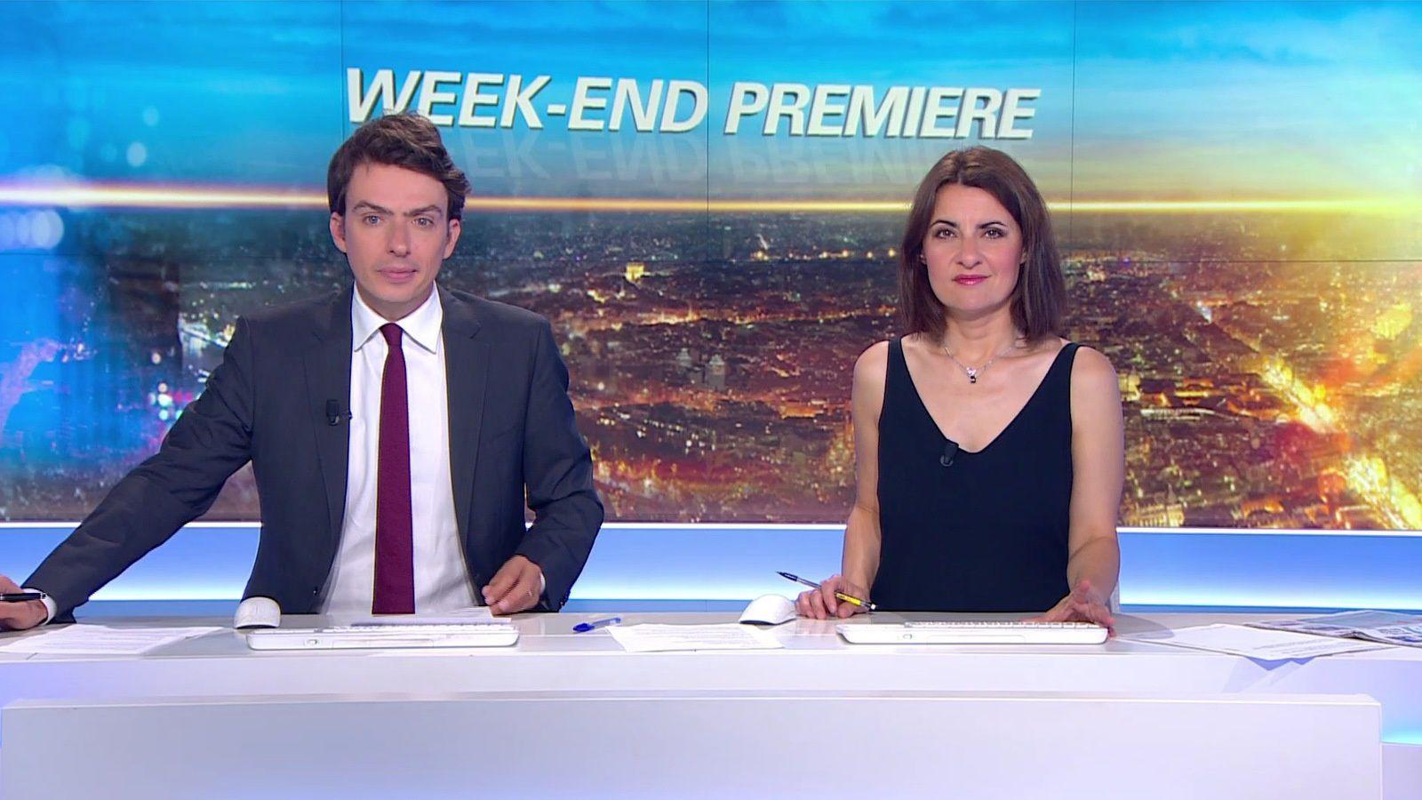📸12 WEEK-END PREMIERE @BFMTV @BFMTVmatinaleWE @SandraGandoin @JohannaCarlosD8 ce matin #vuesalatele