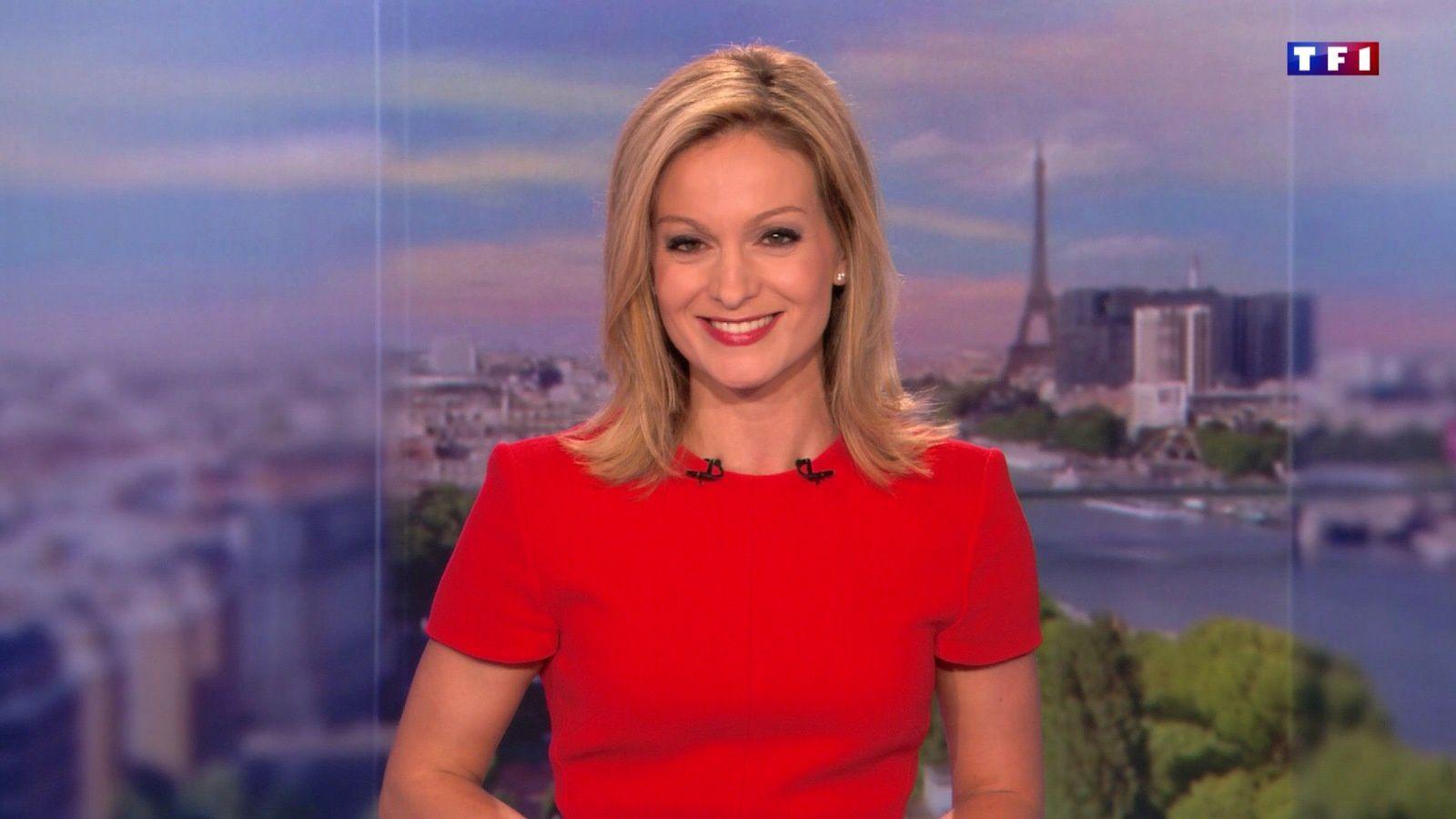 📸11 AUDREY CRESPO-MARA 💄👄💋 @audrey_crespo @TF1 @TF1LeJT pour LE 20H WEEK-END le 2017 06 02 #vuesalatele