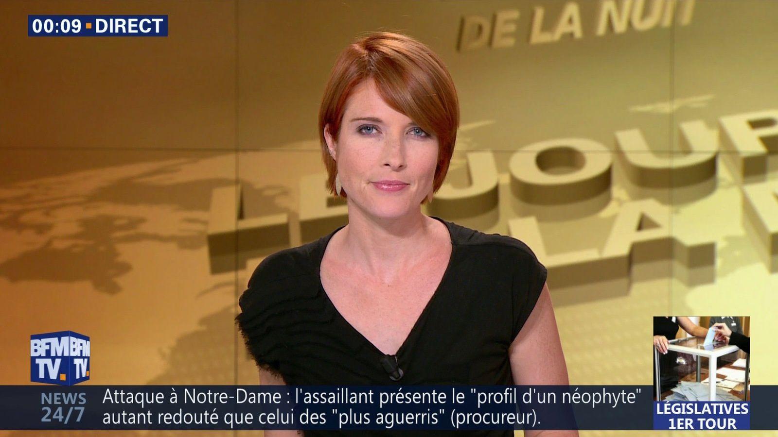 📸11 LUCIE NUTTIN @LucieNuttin @JohannaCarlosD8 pour LE JOURNAL DE LA NUIT cette nuit @bfmtv #vuesalatele