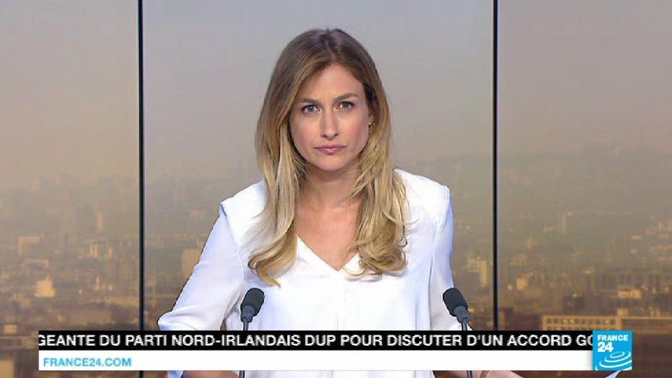 📸9 CLAIRE BONNICHON @Claire_BO ce matin pour PARIS DIRECT @france24 @France24_fr #vuesalatele