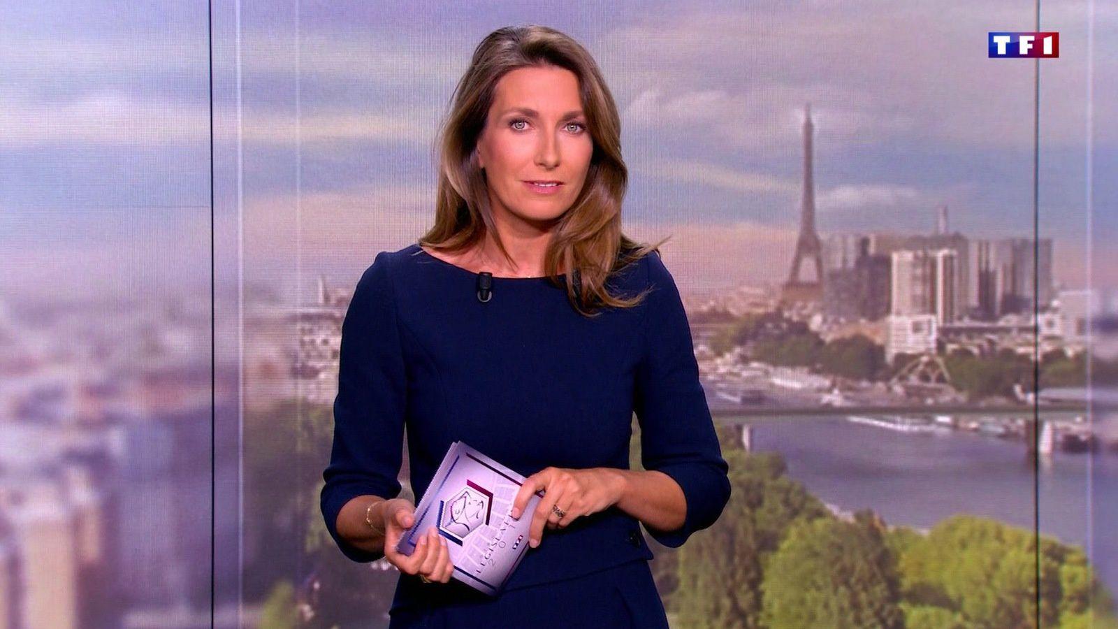 📸11 ANNE-CLAIRE COUDRAY @ACCoudray @TF1 @TF1LeJT ce soir pour LE FLASH #vuesalatele
