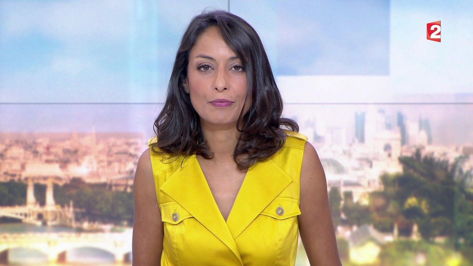 📸15 LEILA KADDOUR @Leilakan ce soir pour LE 13H WEEK-END @France2tv #vuesalatele
