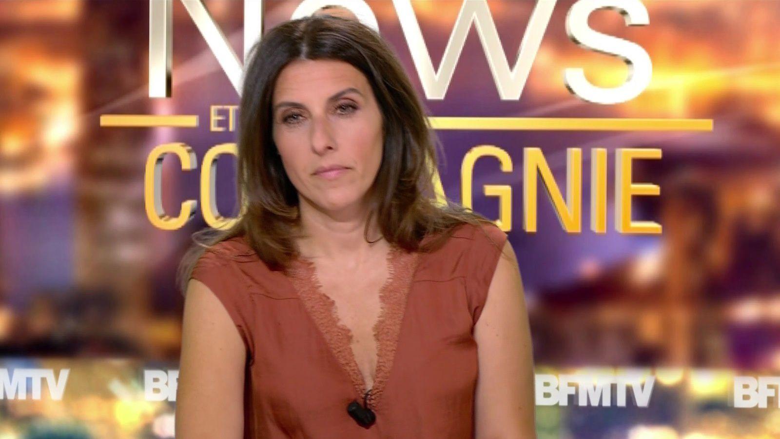 📸8 NATHALIE LEVY @NathalieLevyNC @JohannaCarlosD8 ce soir pour #newsetco @bfmtv #vuesalatele