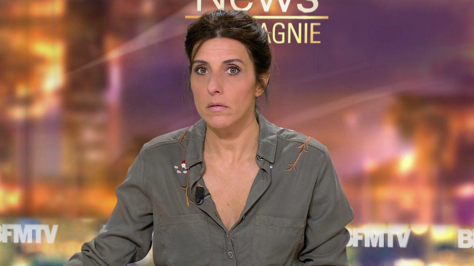 📸7 NATHALIE LEVY @NathalieLevyNC @JohannaCarlosD8 ce soir pour #newsetco @bfmtv #vuesalatele