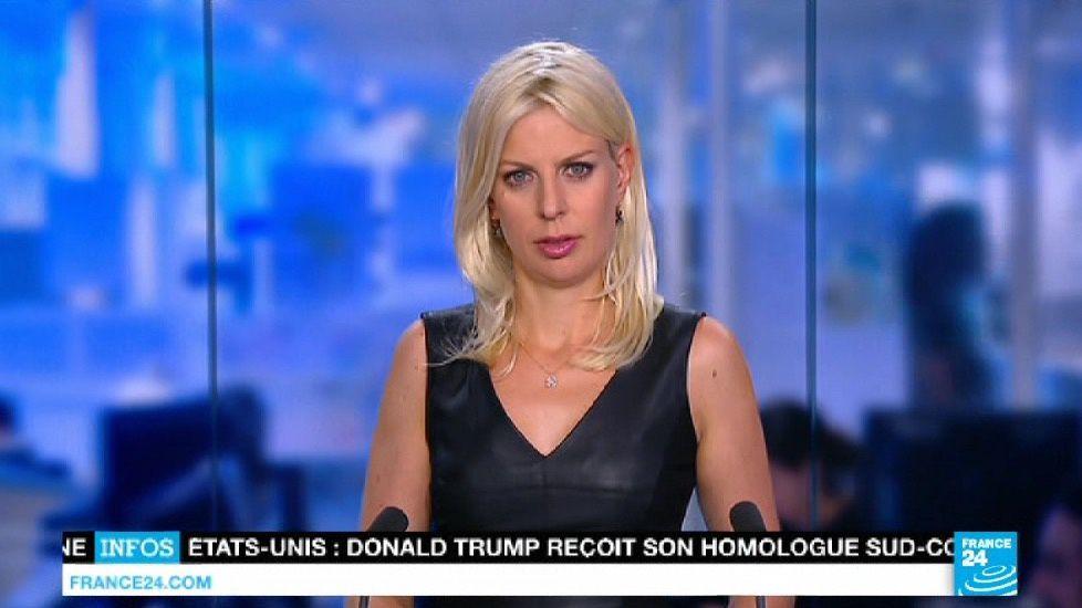 📸5 VALERIANE GAUTHIER @valerianeMG cette nuit pour LE JOURNAL @FRANCE24 @France24_fr #vuesalatele