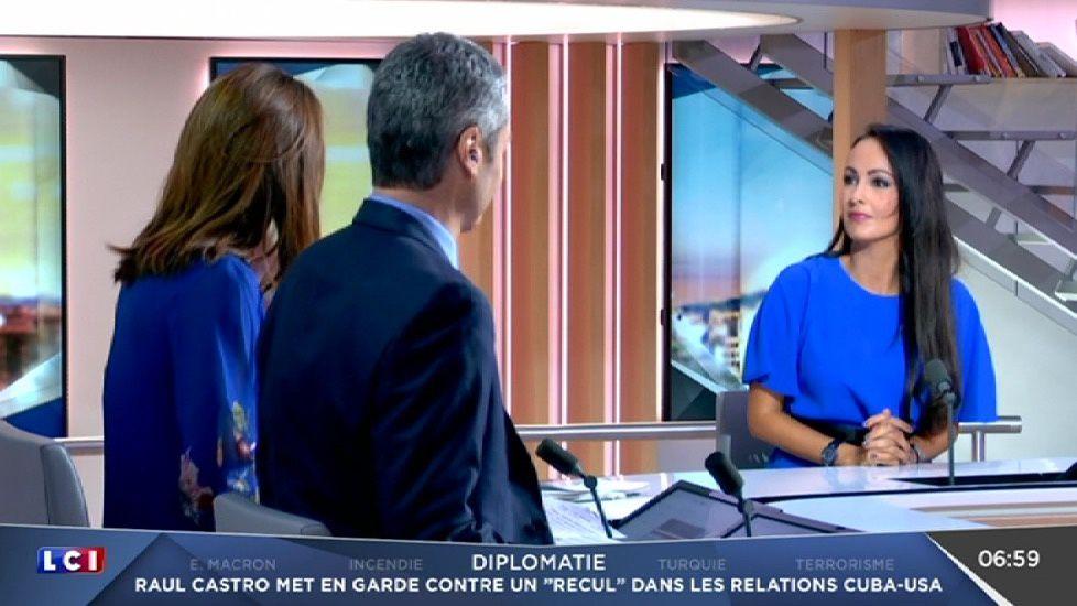 📸9 ALEXANDRA BLANC @alexandrablanc3 pour LA METEO @LCI #vuesalatele
