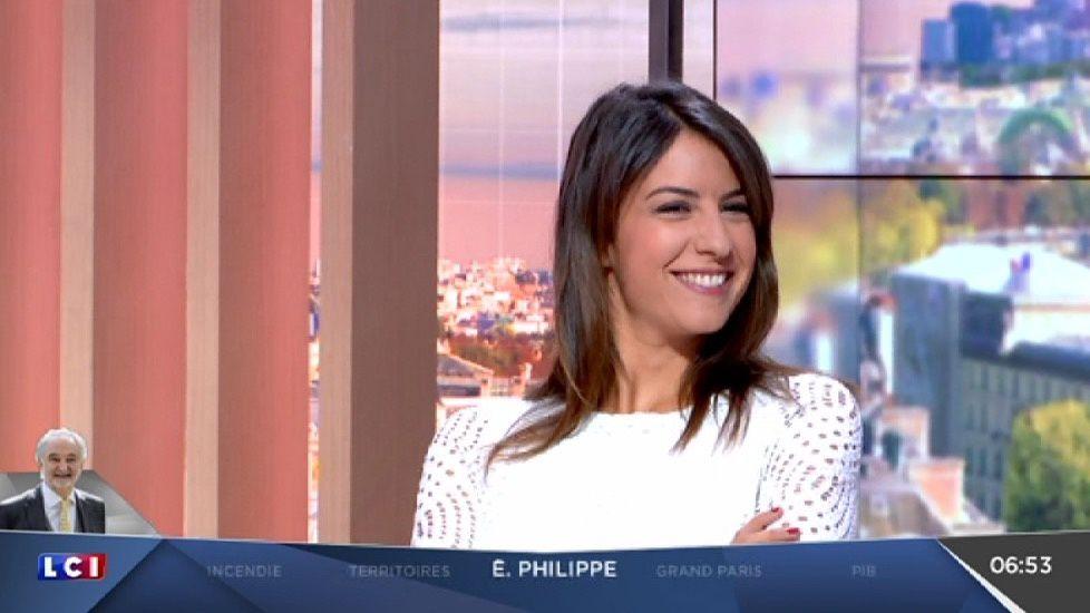📸4 HELENE MANNARINO ce matin @lcimatin @lci #vuesalatele