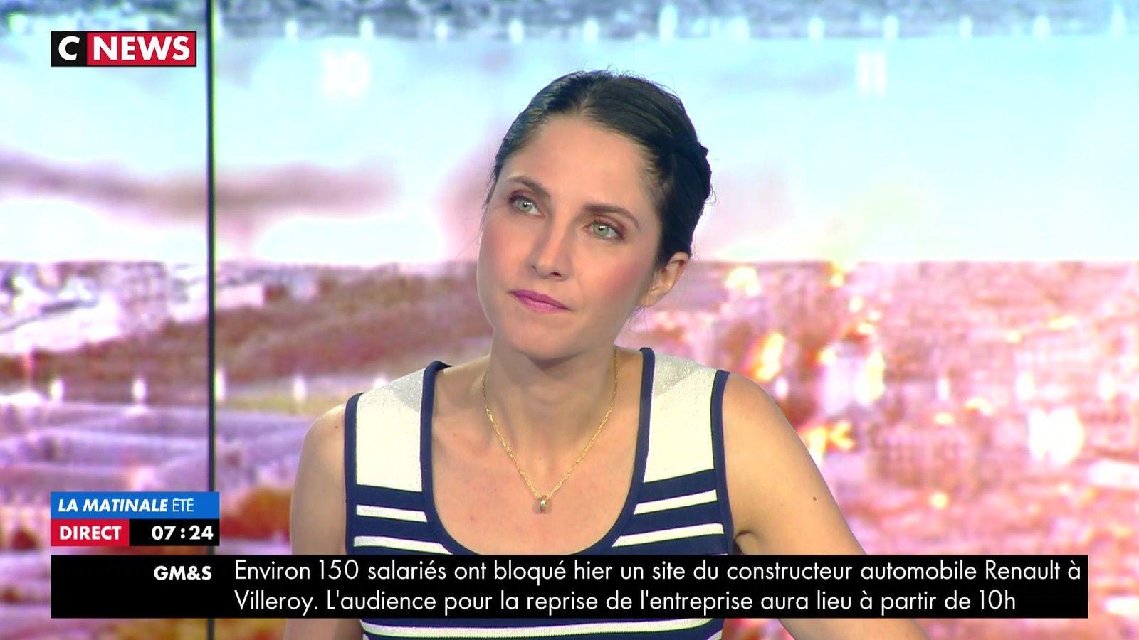 📸11 CLELIE MATHIAS @cleliemathias @JohannaCarlosD8 @cnews ce matin #LamatinaleETE #vuesalatele