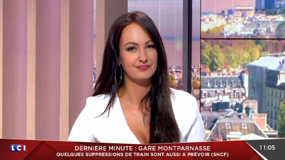 📸19 ALEXANDRA BLANC ce matin pour LA METEO sur LCI #vuesalatele #LaDer #retraite